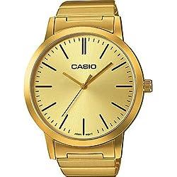 Reloj solo tiempo para hombre Casio Colletion Casual Cod. ltp-e118g-9aer