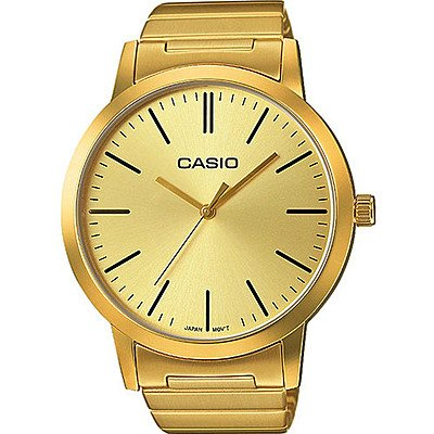 CASIO Mixte Adulte Analogique Quartz Montre Bracelet en Acier Inoxydable LTP-E118G-9AER