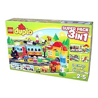 Lego Duplo Eisenbahn 66494 - Super Pack 3 in 1 (B00NRB3X4O) | Amazon price tracker / tracking, Amazon price history charts, Amazon price watches, Amazon price drop alerts