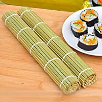 IDEA - Rodillo de sushi para hacer sushi, 24 cm x 24 cm, para