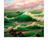 Puzzle 1000 Piezas Sobre Vidrio Art Picture Kit Paisaje Classic Puzzle 3D Puzzle Diy Kit Juguete De Madera Regalo Único Decoración Para El Hogar