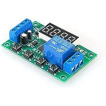 KKmoon Tablero del interruptor de control del temporizador de retardo del módulo de relé de retardo