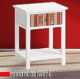 dasmöbelwerk Kommode Beistelltisch Konsole Schubladenkommode Nachttisch Patchwork bunt 07.105.01