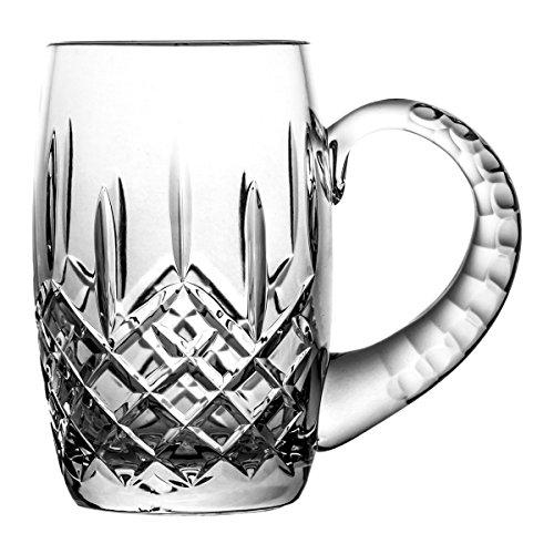 Boccale di birra crystaljulia 3123, cristallo al piombo, trasparente