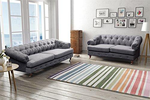 oxford-chesterfield-linen-fabric-sofas-3-2-seater-dark-grey
