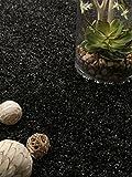 Benuta Shaggy Hochflor Teppich Cambria Anthrazit 160x160 cm | Langflor Teppich für Schlafzimmer und Wohnzimmer