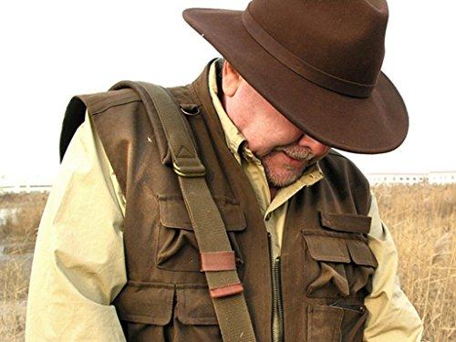 Le gilet Kakadu Traders Australia Traveller est un gilet fonctionnel, 4V14 Marron