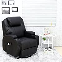 Dream Plus Leather Electric Rise And Recline Mobility Recliner Remove Arm Chair