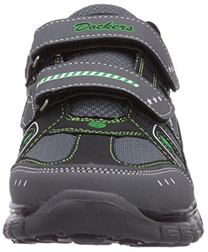 Dockers by Gerli 36SV606, Low-Top Sneaker bambino Grigio (Grau (grau/grün 208))