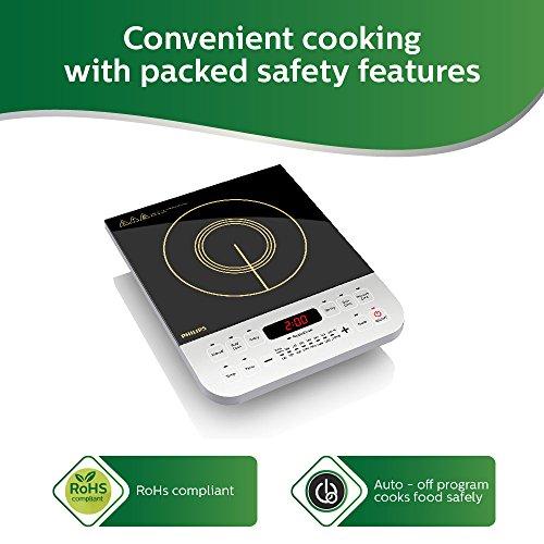 Philips-Viva-Collection-HD492801-2100-Watt-Induction-Cooktop-Black