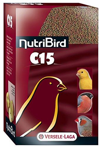 Aliments NutriBird C15 Versele Laga pour canaris Sac 1 kg
