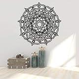 Vintage kunst mandala wandaufkleber kunst tapete wasserdichte wandaufkleber aufkleber wandbilder wohnzimmer dekoration A4 57 * 57 CM