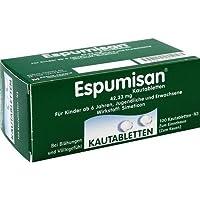 ESPUMISAN KAUTABLETTEN 100St Kautabletten PZN:6882053 preisvergleich bei billige-tabletten.eu