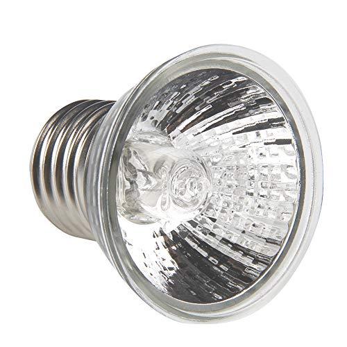 LANDUM 25W / 75W UVA Uvb Rettile Tortoise Lampada da Riscaldamento Full Spectrum Lampade da Sole Basking Pet