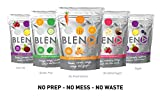 EPIC 4 PACK BLENDI SMOOTHIE MIX 100% NATURAL & NUTRITIOUS FREEZE DRIED FRUIT AND VEG