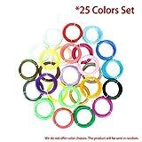 FDBF 25 Colors 3D Printing Pen Filament Set 1.75mm ABS Filament for 3D Printer