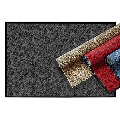 fusabtreter casa pura® Premium Fußmatte | Sauberlaufmatte für Eingangsbereiche | Fußabtreter mit Testnote 1,7 | Schmutzfangmatte in 8 Größen als Türvorleger innen und außen | beige - meliert | 40x60cm