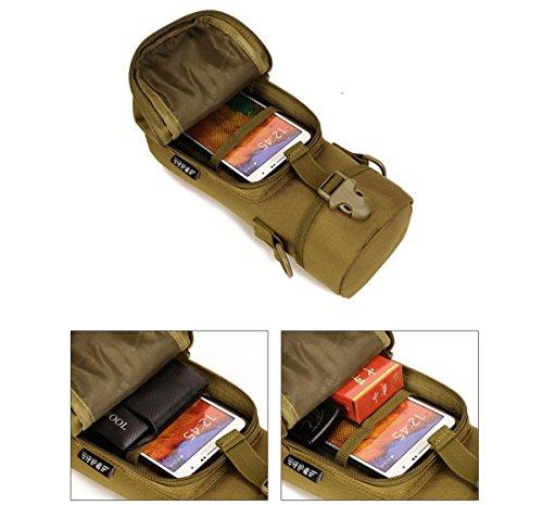 Protector Plus Borsa per bricolage, bollitore da viaggio per l'alpinismo, borsa da arrampicata per acqua, pacchetto croce diagonale spalla , D D