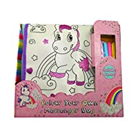 Magical Misty Colour Your Own Unicorn Messenger Bag Colouring Set for Girls Unicorns Gifts