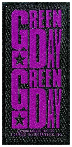 Green Day Purple Logo Aufnäher Green Day-logo-beanie