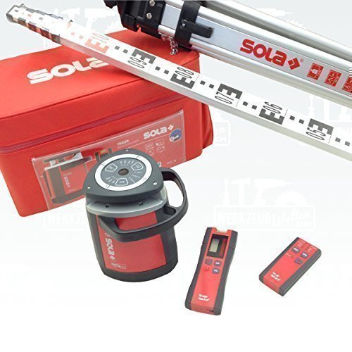 Preisvergleich Produktbild Sola Trigon Red-Set Rotationslaser Komplett-Set