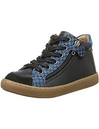 Suprême 1661602 - Enfants Haute Chaussures De Sport Synthétiques, Marron, Taille 32 Eu