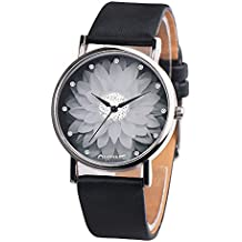Darringls_Reloj WOK16229 OKTIME,Natural De Madera del Reloj De Cuero Reloj Único Texturas Natural Madera