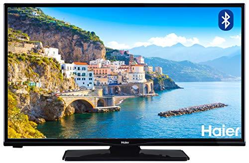 """Haier LDH32V280 TV da 32"""", HD+, Bluetooth, DVBT-2 (HD+, A+, 16:9,colore nero)"""