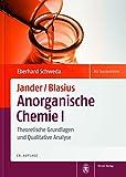 Image de Jander/Blasius, Anorganische Chemie I: Theoretische Grundlagen und Qualitative Analyse
