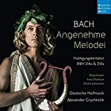Bach:Angenehme Melodei allemand]