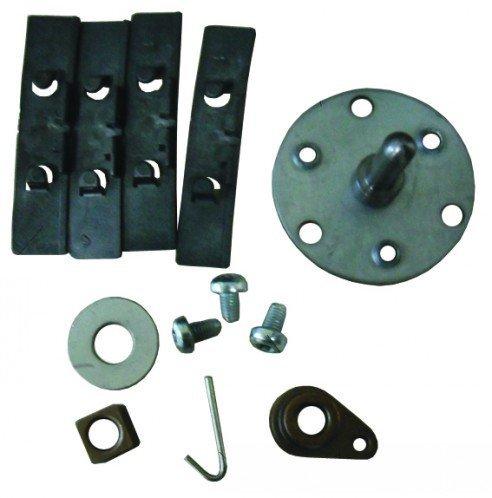 Qualtex Kit de réparation d'axe de tambour/de roulement en forme de larme pour sèche-linge Hotpoint/Indesit