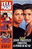 TELE POCHE [No 1457] du 10/01/1994 - BEVERLY HILLS / JASON PRIESTLEY ET CHRISTINE -CHANTAL GALLIA ET SON BEBE -CLINT EASTWOOD -MIMIE MATHY