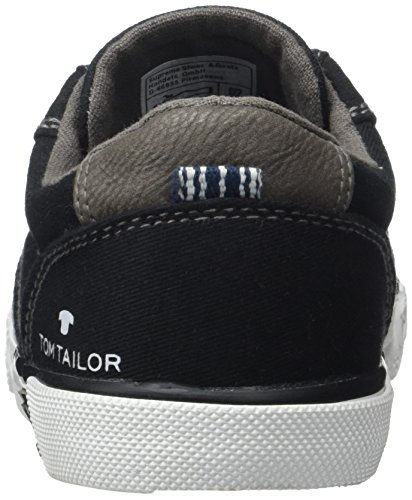 Tom Tailor Kids Jungen 2770903 Slipper, Schwarz (Black), 36 EU -