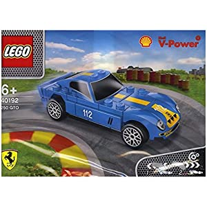 2014 The New Shell V-power Lego Collection Ferrari 250 GTO 40192 Exclusive Sealed