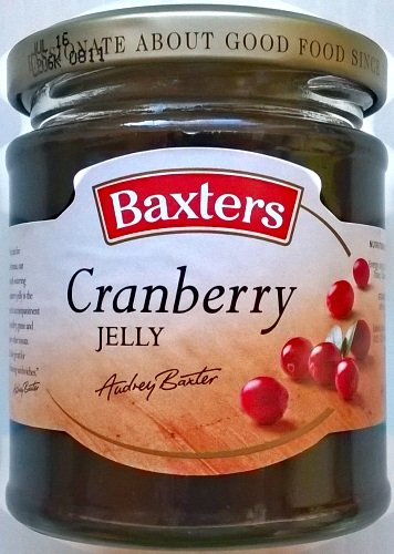 Baxters Cranberry Jelly - 6 x 210gm