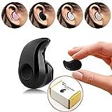 Mini - Unsichtbar PChero Single Ultra Small Bluetooth 4.0 Ohrhörer Headset Mit Mikrofon, Fordert Unterstützung Die Hände Frei Für Smartphones, Perfekt Für Musik bei der arbeit für das rechte Ohr - Schwarz