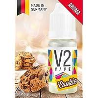 V2 Vape Cookie Biscuit Concentrado de Alta Dosis Sabor a Alimentos Premium 10ml 0mg Nicotine Free