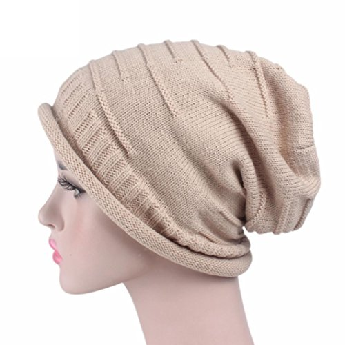 POachers Cappello da donna con berretto invernale da donna Cachi