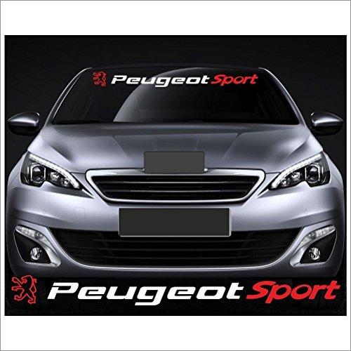 Aufkleber Kit Peugeot Sport Aufkleber 100 Cm Aufkleber Mit Montage Set Inkl Estrellina Montage Rakel Estrellina Glücksaufkleber Versand
