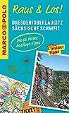 MARCO POLO Raus & Los! Dresden, Oberlausitz, Sächsische Schweiz: Guide und große Erlebnis-Karte in praktischer Schutzhülle -