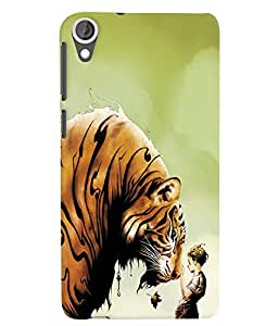 Citydreamz Tiger/Wild/Animals/Jungle Hard Polycarbonate Designer Back Case Cover For HTC Desire 630/ HTC Desire 630 Dual Sim