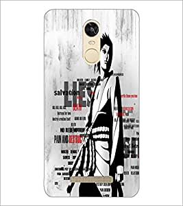 PrintDhaba Typography D-2676 Back Case Cover for XIAOMI REDMI NOTE 3 PRO (Multi-Coloured)