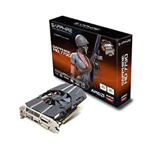 Sapphire HD7790 1G GDDR5 PCI-E DL-DVI-I+DL-DVI-D / HDMI / DP Carte Graphique VGA ATI Radeon HD7790 1 Go PCI express