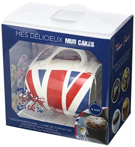 Mes délicieux mug cakes : Coffret livre + mug