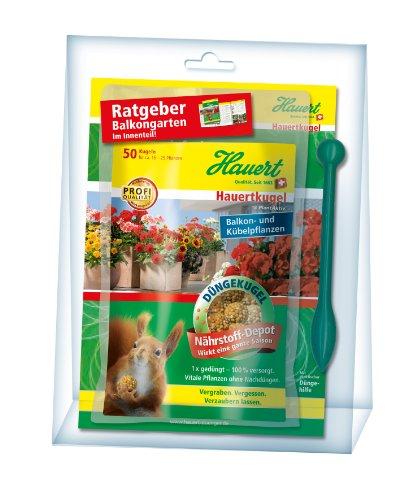 Preisvergleich Produktbild Hauert HBG Dünger 109463 Hauertkugeln für Balkon- und Kübelpflanzen 50-Stück