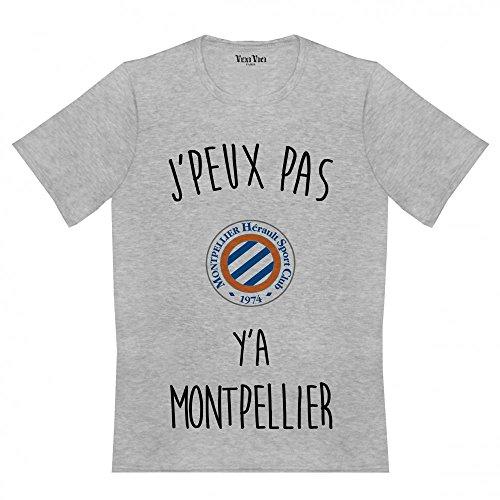 Veni Vici -  T-shirt - Uomo Grigio