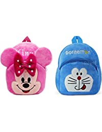 cd7519ac49 Kids School Bag Nursery Picnic Carry Travelling Bag Soft Plush Backpack  School