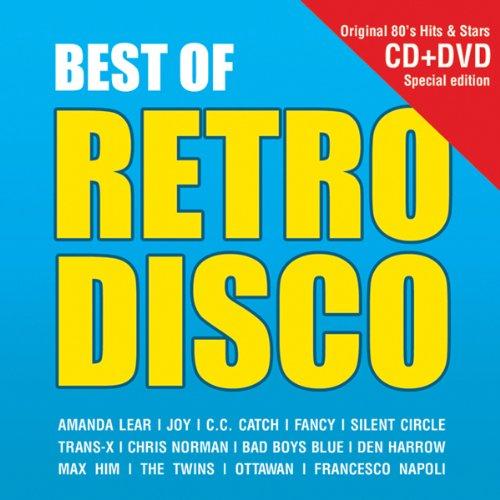 Best Of Retro Disco Cd + Dvd Retro Disco