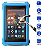 MaxKu Fire HD 8 Kids Edition 2017 Schutzfolie,Glasfolie Hartglas 9H Hardness Panzerglas Displayschutz Anti-Kratz Displayschutz für Fire HD 8 Kids Edition 2017