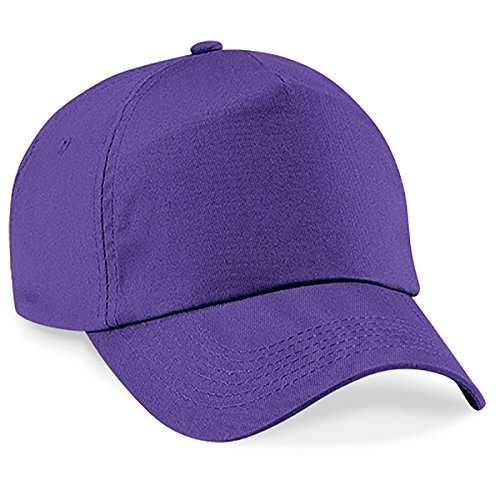 Casquette 4sold Unisexe Broderie Coton Baseball Cap GarçOns Filles Snapback Hip Hop Flat Hat Bonnet purple